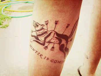 """Community Post: 31 Incredible """"Game Of Thrones"""" Tattoos"""