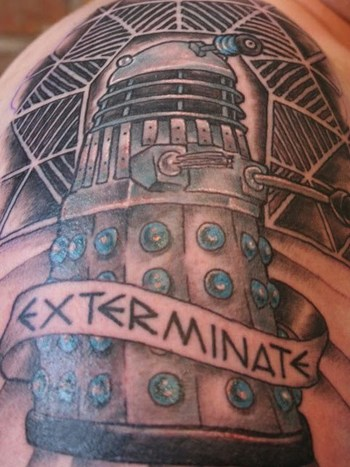 Nerd Tattoos: Dr. Who Tattoos