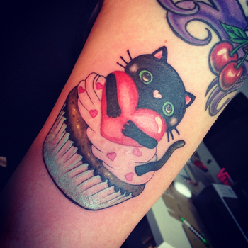 40 Yummy and Funny Cupcake Tattoos - Tattoodo.com