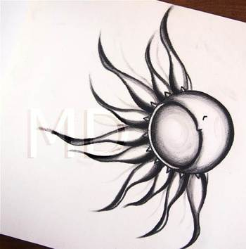 sun and moon tattoos - Bing Images