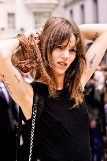 Freja Beha. Love the hair!