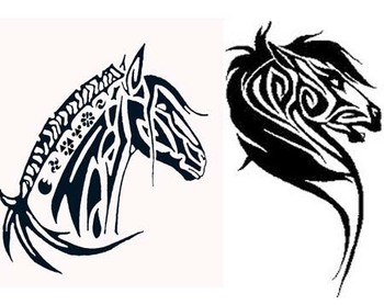 tribal horse tattoo designsTribal Horse Tattoos Lots of Designs Ideas NuDNUdpw