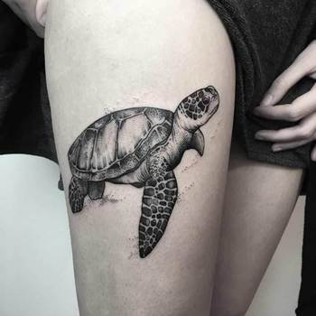 45 Dazzling Dotwork Animal Tattoos - TATTOOBLEND