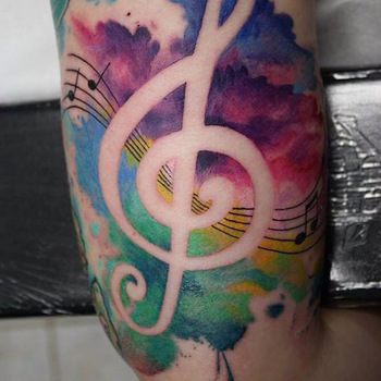 Watercolor Tattoos - Inked Magazine