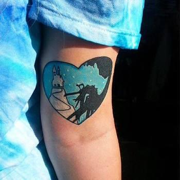 Edward Scissorhands Tattoo - Alex Heart