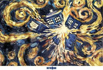 » Exploding Tardis / Victory Daleks / Vortex Posters