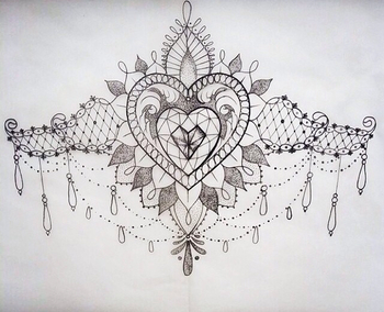 Sternum tattoo incorporate Wi and it's mine :)