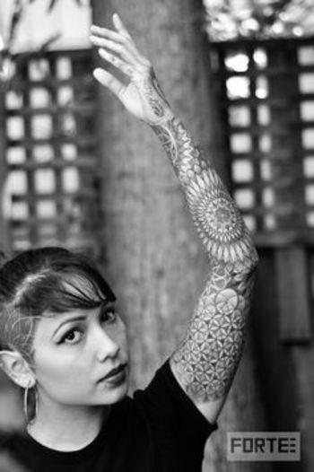 pattern tattoo #tattoo #ink