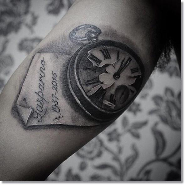 75 brilliant pocket watch tattoo designs ever made 365ddfad 34d1 46dd 92c5 8aff35fc5d67 original