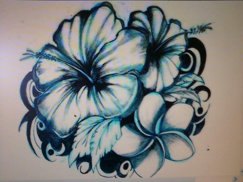 Hawaiian Flower Tattoo Designs Making Big Impression Todays Culture