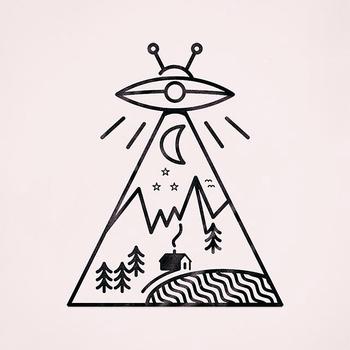 UFO tattoo idea