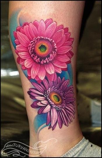 12 Pretty Daisy Tattoo Designs You May Love - Pretty Designs