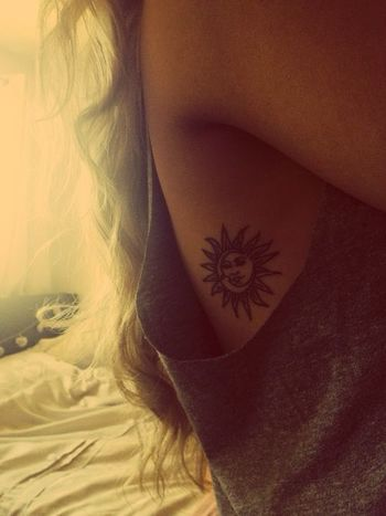 Always wanted something exactly like this. Placement and everything. The sun is my savior, the moon is my friend.