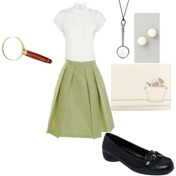"""""""Nancy drew inspired outfit"""" by elizabeth-nixon on Polyvore"""