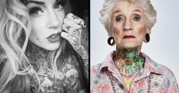 See What The Years Can Do To An Awesome Tattoo!