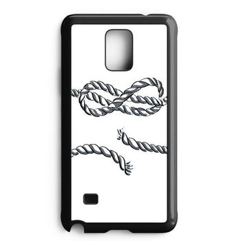 Infinity Rope Tattoo Iphone Samsung Galaxy Note 5 Case