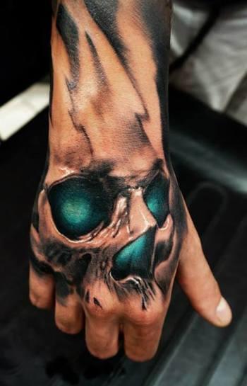 Most Stunning Hand Tattoos 2013