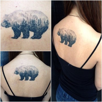 18 Magnificent Double Exposure Tattoos   Tattoodo.com