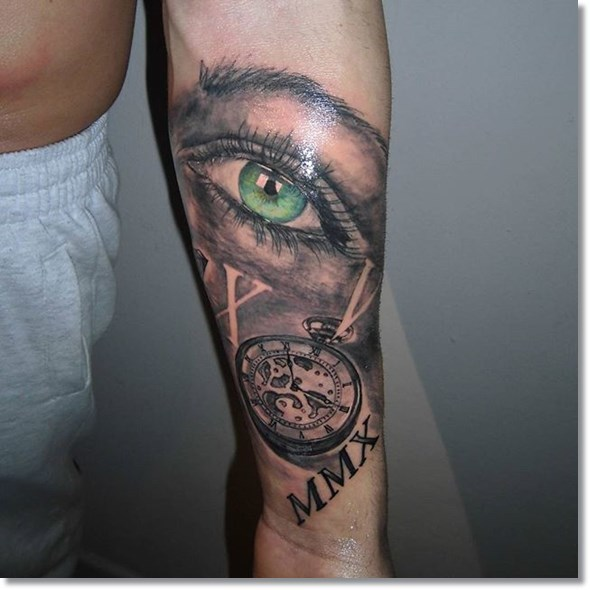 75 brilliant pocket watch tattoo designs ever made 244c2c94 8e6f 422f b15c 3e534b5c4db1 original