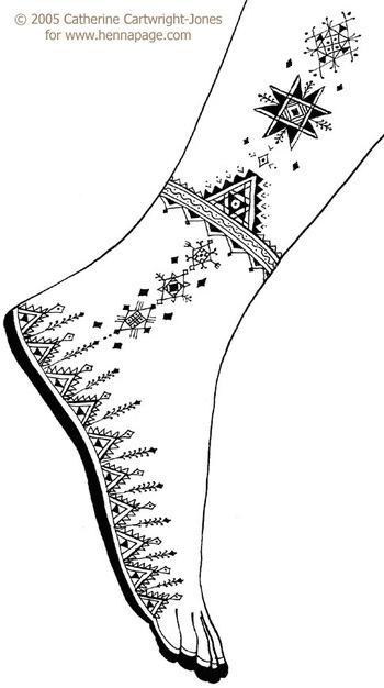 The Henna Page - Free Henna Patterns