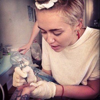 Miley Cyrus Will Design You A Custom Tattoo For $10,000