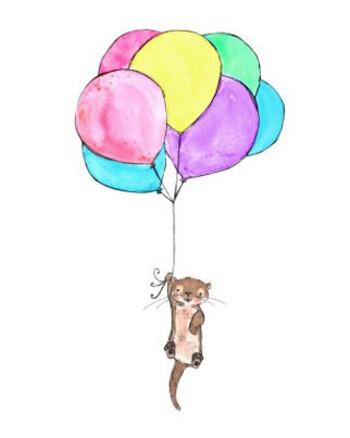 otter balloons