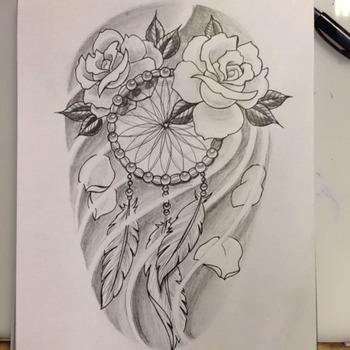 dream catcher drawing pencil - Google zoeken
