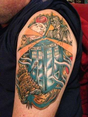 60+ Wibbly Wobbly Doctor Who Tattoos