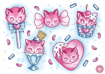 Ella Mobbs | Cat Candy Flash