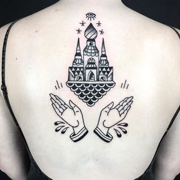 "Contemporary Tattooing on Instagram: ""By @russellxwinter @hiddenmoontattoo ♠️ www.facebook.com/TTTism  www.TTTism.tumblr.com ♠️ #TTTism #ContemporaryTattooing  #tattoo #bodyart…"""