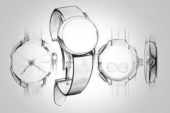 wrist watch design - sketches & renders Digital Art Industrial Design Product Design