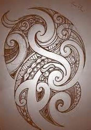 Image detail for -Koru Tattoo: Tongan Influenced Polynesian Fusion Sleeve on James