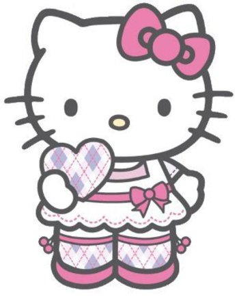 Hello Kitty - skirt with love