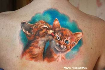 35 Unbelievable Cat Tattoos That Are Guaranteed To Leave You Thoroughly Impressed - TATTOOBLEND