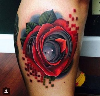 32 Original Rose Tattoos | Tattoodo.com