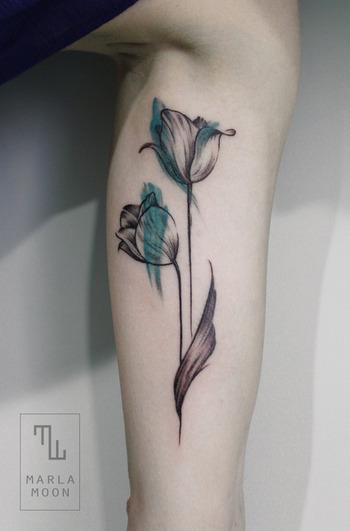 Marla Moon (Best Tattoos)