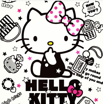 Hello Kitty surrounding images