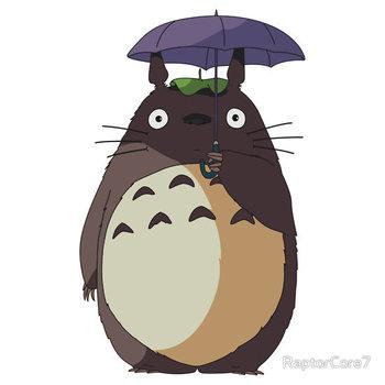 My Neighbour Totoro - Umbrella Totoro by RaptorCore7