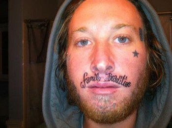 "This really bizarre family tradition: | 31 Tattoos That Will Make You Scream ""Nooooo"""
