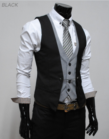 Want to try the double vest, minus an undershirt. Should aquire tattoo sleeves to balance out that co