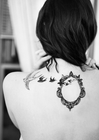 Tattoos: Tattoo is no longer an art that just the men love! Women are stepping up. Here are some tatt
