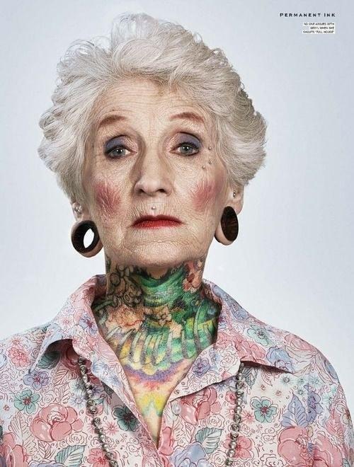 24 ancianos con tatuajes responden a la pregunta como te veras dentro de 40 anos original