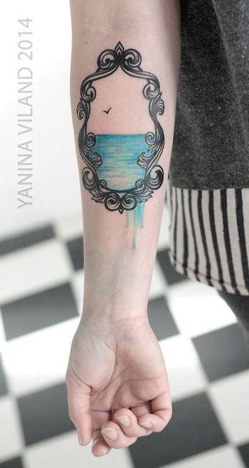 Frame Tattoos - Inked Magazine