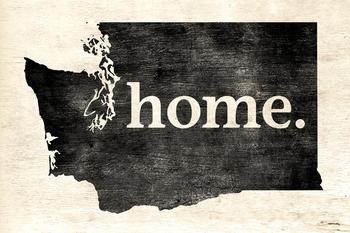 Washington Home Poster Print