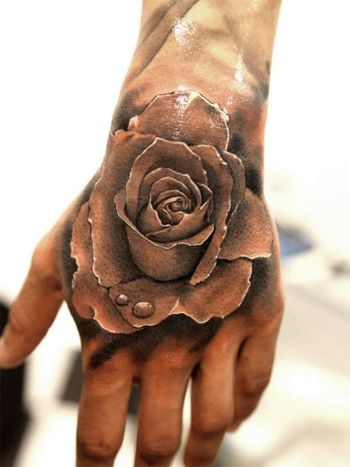 Feed Your Ink Addiction With 50 Of The Most Beautiful Rose Tattoo Designs For Women And Men | KickassThings