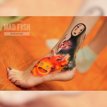 Done by Anton Kovrigin, tattooist at Mad Fish Tattoo Studio (Moscow), Russia TattooStage.com - Rate &