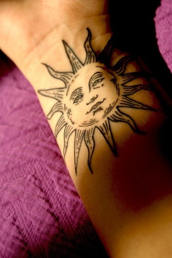 Awesome Sun Tattoo Designs for Men and Women