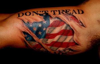 20 Don't Tread on Me Tattoo Designs