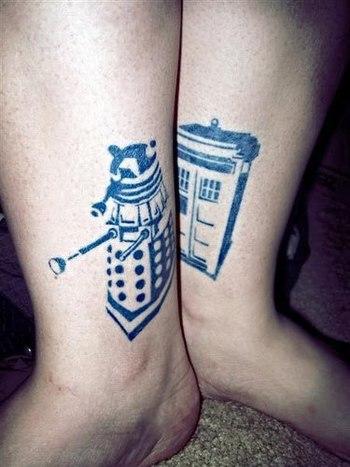 Tattoo Tuesday- Doctor Who   Girl Gone Geek