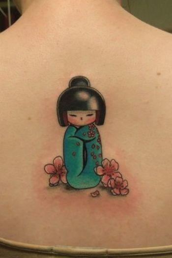Kokeshi tattoo Idea   Tattoo Design Ideas